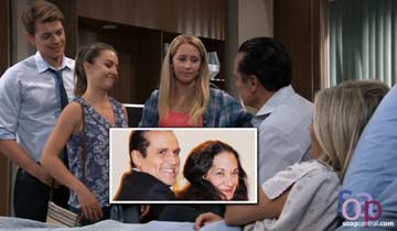 Sonny and Carly's baby name honors late General Hospital crew member