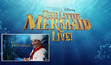 WATCH: GH's John Stamos as Chef Louis in The Little Mermaid Live!