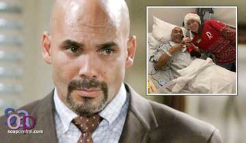 Soap vet Réal Andrews faces cancer surgery with optimistic attitude and holiday cheer