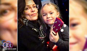 WATCH: Jophielle Love performs song for her GH mom, Rebecca Budig