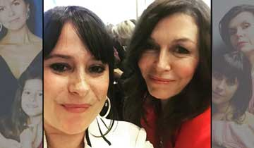 General Hospital mother and daughter Finola Hughes and Kimberly McCullough reunite