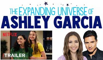 Haley Pullos, Mario Lopez in The Expanding Universe of Ashley Garcia