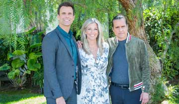 General Hospital's Maurice Benard and Laura Wright celebrate 15 years of their Sonny and Carly