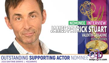 INTERVIEW: General Hospital's James Patrick Stuart on his Emmy nom, working with Michael E. Knight, and more