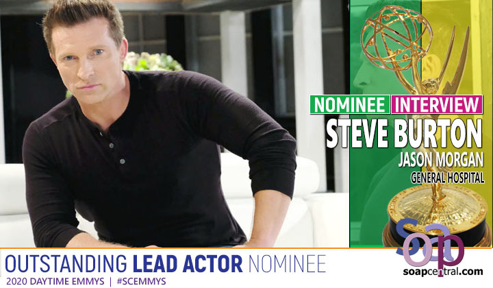 INTERVIEW: Steve Burton reacts to his Emmy nomination