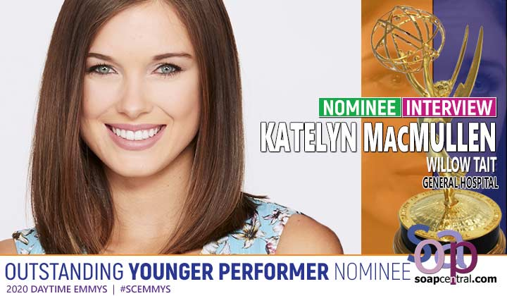 INTERVIEW: General Hospital's Katelyn MacMullen excited, shocked over Daytime Emmy nomination