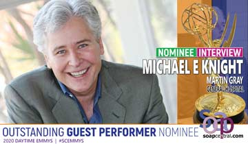 INTERVIEW: General Hospital's Michael E. Knight on his Emmy nomination, EW's All My Children reunion, and more