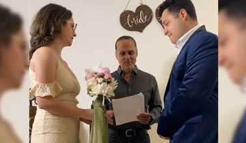 General Hospital's Maurice Benard gets emotional while officiating his daughter's wedding