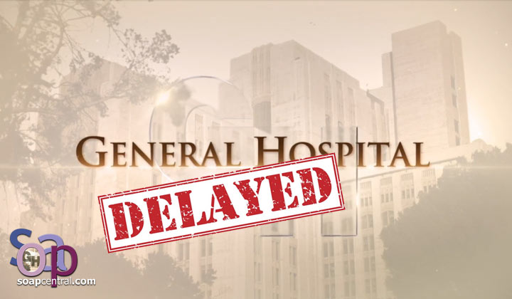 General Hospital pushes back restart date by a week