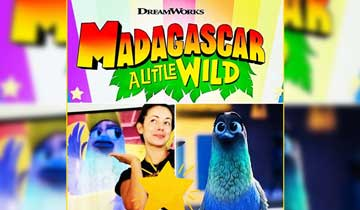 "Teresa Castillo lands fun role on ""adorable show"" Madagascar: A Little Wild"