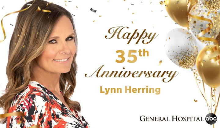 35th anniversary celebration for GH's Lynn Herring