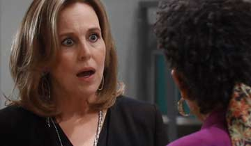 "Genie Francis returns for ""battle of the soul of General Hospital"""