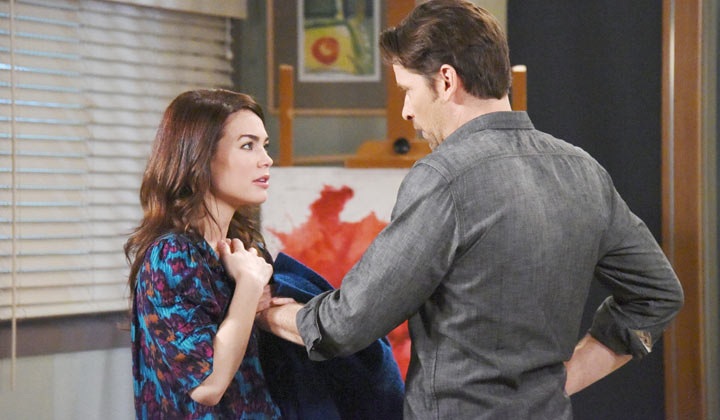 GH's Roger Howarth says simplicity is key for Franco and Liz to thrive