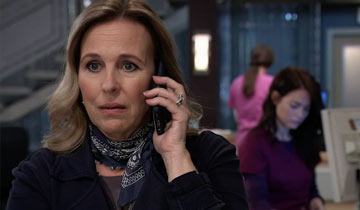 "Genie Francis on the scary GH story that ""makes for good television"""