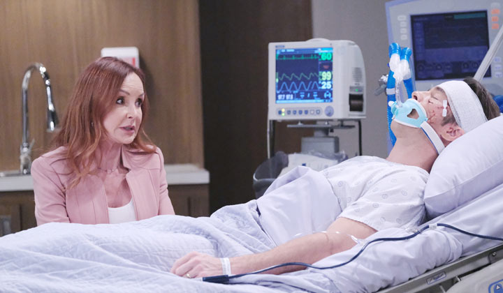 Will Lucas wake up from his coma before he loses his son to Nelle?