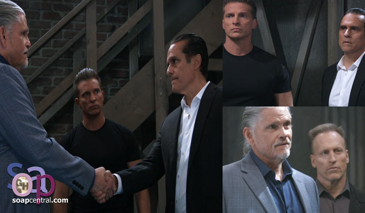 Sonny and Jason meet with Cyrus