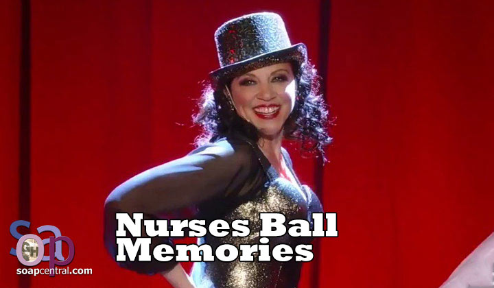 Liesl Obrecht crashes the 2014 Nurses Ball