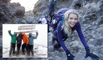 OLTL and GL alum Sonia Satra shares 5 everyday lessons learned from climbing Mt. Kilimanjaro