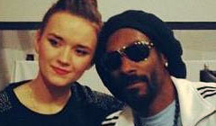 Snoop Dogg and Iza Zach