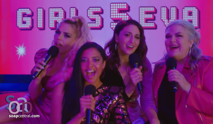Glittery trailer drops for Renée Elise Goldsberry's comedy series Girls5eva
