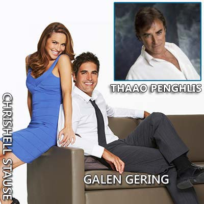 Chrishell Stause and Galen Gering