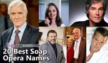 The 20 best soap opera names of all time