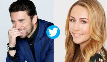 Days of our Lives' Billy Flynn and General Hospital's Eden McCoy share the love