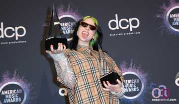 "Soap opera stars created Billie Eilish, the ""weird"" singer who dominated at the American Music Awards"