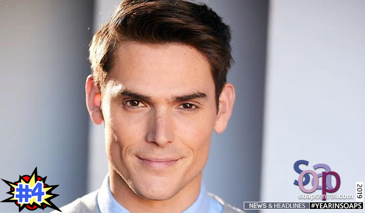 2019 Soap News Mark Grossman cast as Adam Newman on The Young and the Restless