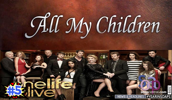 2019 Soap News ABC exec discusses possible reboot of All My Children and One Life to Live