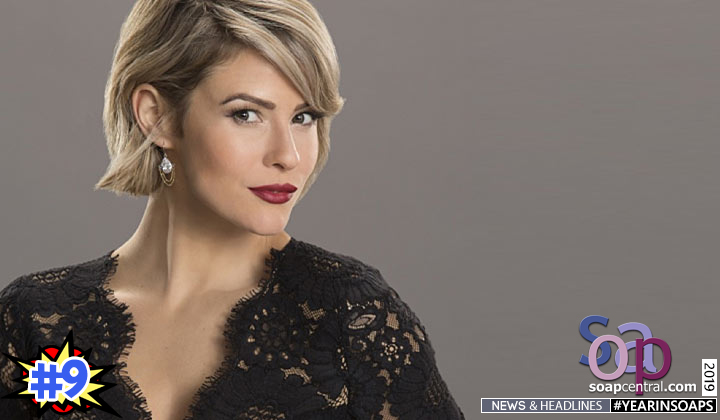2019 Soap News Linsey Godfrey reacts to the death of B&B's Caroline Spencer