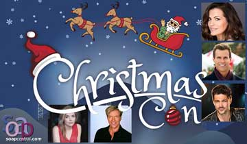 It's soap stars galore at Christmas Con 2020 -- a holiday event in July