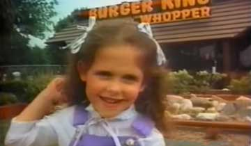 WATCH: Do you recognize the soap stars in these vintage Burger King commercials?