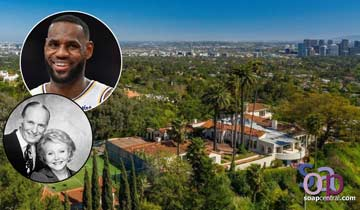 NBA superstar LeBron James buys William J. Bell and Lee Phillip Bell's $39M super glam estate