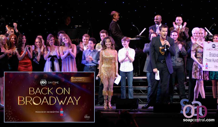 The stars of AMC, OLTL, and GH are back on Broadway, baby!