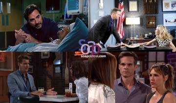 A sneak peek at what happens on B&B, DAYS, GH, and Y&R the week of August 26