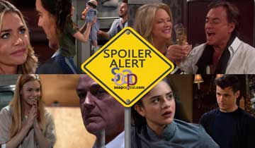 A sneak peek at what happens on B&B, DAYS, GH, and Y&R the week of October 14