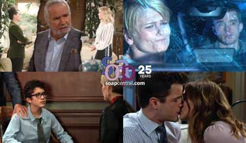 A sneak peek at what happens on B&B, DAYS, GH, and Y&R the week of January 20
