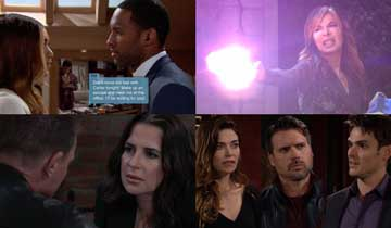 A sneak peek at what happens on B&B, DAYS, GH, and Y&R the week of October 26