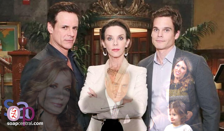 Y&R COMMENTARY: The Fisher kings: Dysfunction junction
