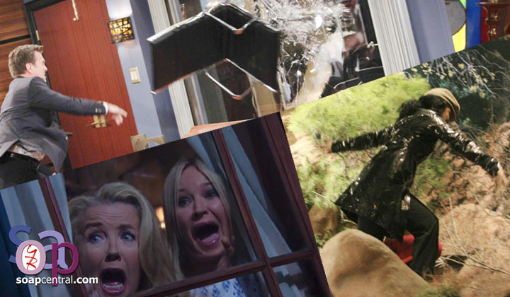 Y&R TWO SCOOPS: Shocking twists, moments of suspense, and one honest-to-goodness cliffhanger