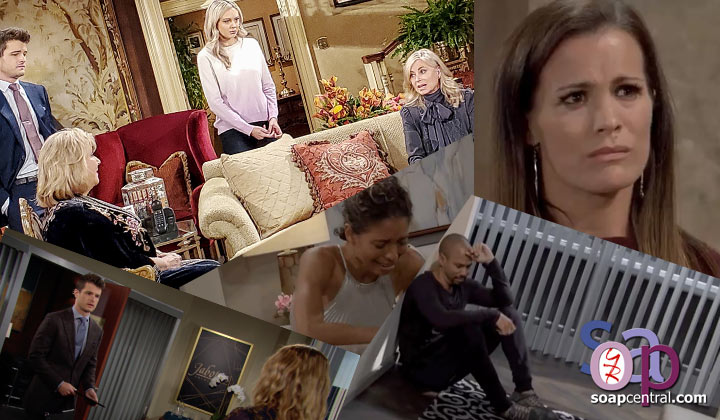 Y&R COMMENTARY: Suddenly, in an instant, she was gone