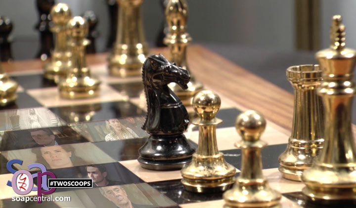 Y&R COMMENTARY: Kings, queens, rooks, and pawns...