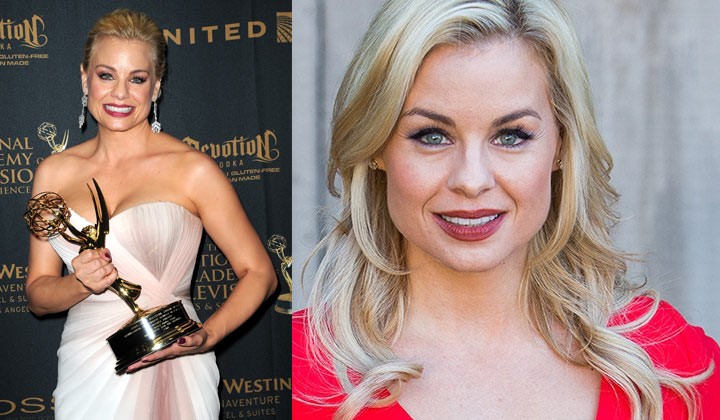 Jessica Collins reprises a favorite role; is she back at The Young and the Restless?