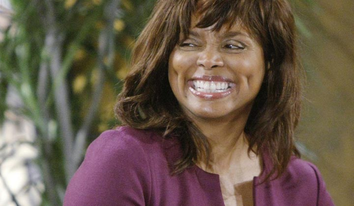 Debbi Morgan's time on Y&R coming to an end