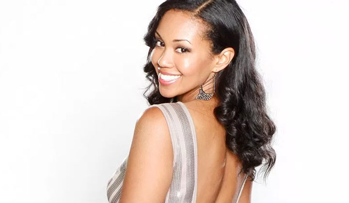 "Mishael Morgan back to Y&R, says it's ""like riding a bike"""