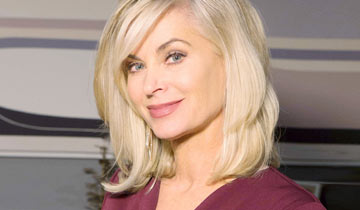 Y&R's Eileen Davidson filming Christmas movie