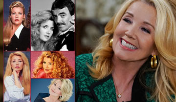 """Go down memory lane"" with Melody Thomas Scott, who's celebrating 40 years at Y&R"