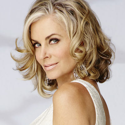Eileen Davidson on contract with Y&R