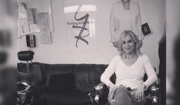 Eileen Davidson tapes her final scenes at The Young and the Restless